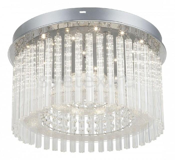Накладной светильник GloboСветодиодные<br>Артикул - GB_68568-18,Бренд - Globo (Австрия),Коллекция - Joyce,Гарантия, месяцы - 24,Высота, мм - 230,Диаметр, мм - 370,Размер упаковки, мм - 420х420х105,Тип лампы - светодиодная [LED],Общее кол-во ламп - 1,Напряжение питания лампы, В - 220,Максимальная мощность лампы, Вт - 18,Лампы в комплекте - светодиодная [LED],Цвет плафонов и подвесок - неокрашенный,Тип поверхности плафонов - прозрачный,Материал плафонов и подвесок - стекло,Цвет арматуры - хром,Тип поверхности арматуры - глянцевый, металлик,Материал арматуры - металл,Возможность подлючения диммера - нельзя,Световой поток, лм - 1630,Экономичнее лампы накаливания - в 6, 9 раз,Светоотдача, лм/Вт - 91,Класс электробезопасности - I,Степень пылевлагозащиты, IP - 20,Диапазон рабочих температур - комнатная температура,Дополнительные параметры - способ крепления светильника к потолку – на монтажной пластине<br>