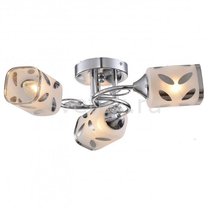 Потолочная люстра ToscomЛюстры<br>Артикул - TO_TC-120-103,Бренд - Toscom (Китай),Коллекция - Grace,Гарантия, месяцы - 24,Высота, мм - 110,Диаметр, мм - 500,Размер упаковки, мм - 290x270x145,Тип лампы - компактная люминесцентная [КЛЛ] ИЛИнакаливания ИЛИсветодиодная [LED],Общее кол-во ламп - 3,Напряжение питания лампы, В - 220,Максимальная мощность лампы, Вт - 40,Лампы в комплекте - отсутствуют,Цвет плафонов и подвесок - белый с хромированным рисунком и каймой,Тип поверхности плафонов - глянцевый, матовый, прозрачный,Материал плафонов и подвесок - стекло, хрусталь,Цвет арматуры - хром,Тип поверхности арматуры - глянцевый,Материал арматуры - металл,Количество плафонов - 3,Возможность подлючения диммера - можно, если установить лампу накаливания,Тип цоколя лампы - E14,Класс электробезопасности - I,Общая мощность, Вт - 120,Степень пылевлагозащиты, IP - 20,Диапазон рабочих температур - комнатная температура,Дополнительные параметры - способ крепления светильника к потолку - на монтажной пластине<br>