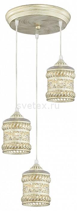 Подвесной светильник FavouriteСветодиодные<br>Артикул - FV_1623-3P,Бренд - Favourite (Германия),Коллекция - Arabia,Гарантия, месяцы - 24,Высота, мм - 1200,Диаметр, мм - 270,Тип лампы - компактная люминесцентная [КЛЛ] ИЛИнакаливания ИЛИсветодиодная [LED],Общее кол-во ламп - 3,Напряжение питания лампы, В - 220,Максимальная мощность лампы, Вт - 40,Лампы в комплекте - отсутствуют,Цвет плафонов и подвесок - слоновая кость с позолотой, неокрашенный,Тип поверхности плафонов - матовый, прозрачный,Материал плафонов и подвесок - металл, хрусталь,Цвет арматуры - слоновая кость с позолотой, неокрашенный,Тип поверхности арматуры - матовый,Материал арматуры - металл,Количество плафонов - 3,Возможность подлючения диммера - можно, если установить лампу накаливания,Тип цоколя лампы - E14,Класс электробезопасности - I,Общая мощность, Вт - 120,Степень пылевлагозащиты, IP - 20,Диапазон рабочих температур - комнатная температура,Дополнительные параметры - способ крепления светильника к потолку - на монтажной пластине<br>