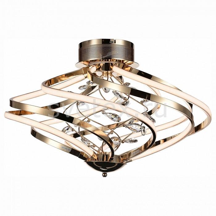 Потолочная люстра ST-LuceПолимерные плафоны<br>Артикул - SL924.202.10,Бренд - ST-Luce (Италия),Коллекция - SL924,Гарантия, месяцы - 24,Время изготовления, дней - 1,Высота, мм - 490,Диаметр, мм - 740,Размер упаковки, мм - 710х710х530,Тип лампы - светодиодная [LED],Общее кол-во ламп - 10,Напряжение питания лампы, В - 220,Максимальная мощность лампы, Вт - 7, 2,Цвет лампы - белый,Лампы в комплекте - светодиодные [LED],Цвет плафонов и подвесок - белый, неокрашенный,Тип поверхности плафонов - матовый, прозрачный,Материал плафонов и подвесок - акрил, хрусталь,Цвет арматуры - золото,Тип поверхности арматуры - глянцевый,Материал арматуры - металл,Количество плафонов - 10,Возможность подлючения диммера - нельзя,Цветовая температура, K - 4000 K,Экономичнее лампы накаливания - в 10 раз,Класс электробезопасности - I,Общая мощность, Вт - 72,Степень пылевлагозащиты, IP - 20,Диапазон рабочих температур - комнатная температура,Дополнительные параметры - способ крепления светильника к потолку – на монтажной пластине<br>