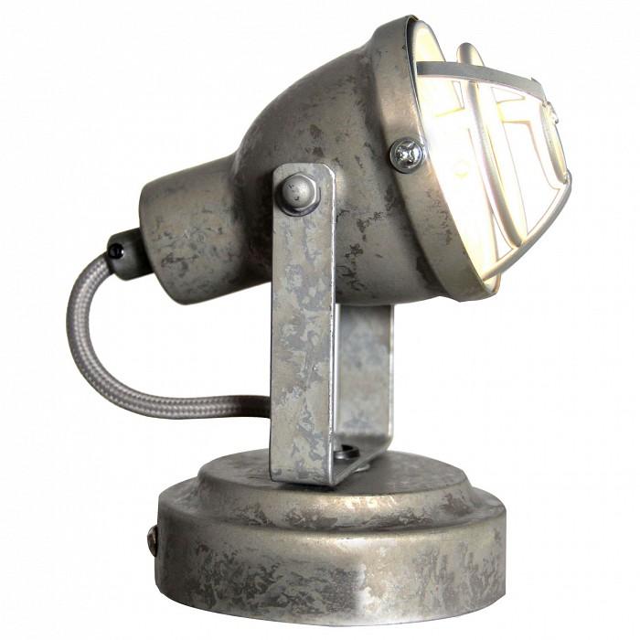 Спот LussoleСпоты<br>Артикул - LSP-9804,Бренд - Lussole (Италия),Коллекция - Sindy,Гарантия, месяцы - 24,Длина, мм - 100,Ширина, мм - 90,Выступ, мм - 140,Тип лампы - галогеновая ИЛИсветодиодная [LED],Общее кол-во ламп - 1,Напряжение питания лампы, В - 220,Максимальная мощность лампы, Вт - 50,Лампы в комплекте - отсутствуют,Цвет плафонов и подвесок - серый,Тип поверхности плафонов - матовый,Материал плафонов и подвесок - металл,Цвет арматуры - серый,Тип поверхности арматуры - матовый,Материал арматуры - металл,Количество плафонов - 1,Возможность подлючения диммера - можно, если установить галогеновую лампу,Форма и тип колбы - полусферическая с рефлектором,Тип цоколя лампы - GU10,Класс электробезопасности - I,Степень пылевлагозащиты, IP - 20,Диапазон рабочих температур - комнатная температура,Дополнительные параметры - способ крепления светильника к потолку и стене - на монтажной пластине, поворотный светильник<br>