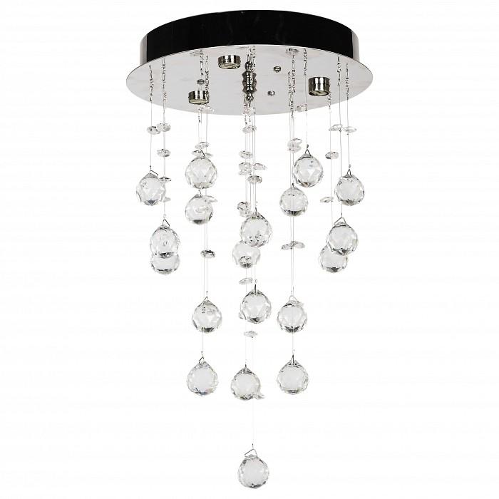 Накладной светильник Dio D'ArteНакладные светильники<br>Артикул - DDA_Tesoro_H_1.4.25.200_N,Бренд - Dio D'Arte (Италия),Коллекция - Tesoro,Гарантия, месяцы - 24,Высота, мм - 450,Диаметр, мм - 250,Тип лампы - галогеновая ИЛИсветодиодная [LED],Общее кол-во ламп - 3,Напряжение питания лампы, В - 220,Максимальная мощность лампы, Вт - 40,Лампы в комплекте - отсутствуют,Цвет плафонов и подвесок - неокрашенный,Тип поверхности плафонов - прозрачный,Материал плафонов и подвесок - хрусталь Asfour,Цвет арматуры - никель,Тип поверхности арматуры - матовый,Материал арматуры - металл,Возможность подлючения диммера - можно, если установить галогеновую лампу,Форма и тип колбы - пальчиковая,Тип цоколя лампы - G9,Класс электробезопасности - I,Общая мощность, Вт - 120,Степень пылевлагозащиты, IP - 20,Диапазон рабочих температур - комнатная температура,Дополнительные параметры - способ крепления светильника к потолку - на монтажной пластине<br>