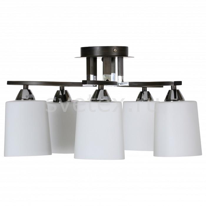 Люстра на штанге IDLampЛюстры<br>Артикул - ID_860_5PF-dark,Бренд - IDLamp (Италия),Коллекция - 860,Гарантия, месяцы - 24,Время изготовления, дней - 1,Высота, мм - 260,Диаметр, мм - 560,Тип лампы - компактная люминесцентная [КЛЛ] ИЛИнакаливания ИЛИсветодиодная [LED],Общее кол-во ламп - 5,Напряжение питания лампы, В - 220,Максимальная мощность лампы, Вт - 60,Лампы в комплекте - отсутствуют,Цвет плафонов и подвесок - белый,Тип поверхности плафонов - глянцевый,Материал плафонов и подвесок - стекло,Цвет арматуры - хром, черный,Тип поверхности арматуры - глянцевый,Материал арматуры - металл,Количество плафонов - 5,Возможность подлючения диммера - можно, если установить лампу накаливания,Тип цоколя лампы - E14,Класс электробезопасности - I,Общая мощность, Вт - 300,Степень пылевлагозащиты, IP - 20,Диапазон рабочих температур - комнатная температура,Дополнительные параметры - способ крепления светильника к потолку — на монтажной пластине, если Вам нужно повесить светильник на крюк, укажите это в комментарии к заказу, - мы положим в подарок пластину с ушком для крюка<br>