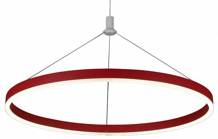 Подвесной светильник Kink LightДля кухни<br>Артикул - KL_08212.06,Бренд - Kink Light (Китай),Коллекция - Тор,Гарантия, месяцы - 24,Высота, мм - 1100,Диаметр, мм - 400,Тип лампы - светодиодная [LED],Общее кол-во ламп - 1,Напряжение питания лампы, В - 220,Максимальная мощность лампы, Вт - 24,Цвет лампы - белый,Лампы в комплекте - светодиодная [LED],Цвет плафонов и подвесок - белый, красный,Тип поверхности плафонов - матовый,Материал плафонов и подвесок - акрил,Цвет арматуры - красный,Тип поверхности арматуры - матовый,Материал арматуры - металл,Количество плафонов - 1,Возможность подлючения диммера - нельзя,Цветовая температура, K - 4000 K,Световой поток, лм - 2160,Экономичнее лампы накаливания - в 6.5 раза,Светоотдача, лм/Вт - 90,Класс электробезопасности - I,Степень пылевлагозащиты, IP - 20,Диапазон рабочих температур - комнатная температура,Дополнительные параметры - способ крепления светильника к потолку - на монжатной пластине, регулируется по высоте<br>