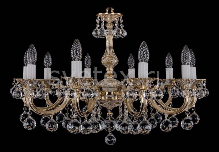 Фото Подвесная люстра Bohemia Ivele Crystal 1702 1702/10/A/GW/Balls