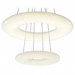 Подвесной светильник ST-LuceСветодиодные<br>Артикул - SL902.503.02,Бренд - ST-Luce (Китай),Коллекция - SL902,Гарантия, месяцы - 24,Высота, мм - 1200,Диаметр, мм - 750,Размер упаковки, мм - 800х800х230,Тип лампы - светодиодная [LED],Общее кол-во ламп - 2,Напряжение питания лампы, В - 220,Максимальная мощность лампы, Вт - 52,Лампы в комплекте - светодиодные [LED],Цвет плафонов и подвесок - белый,Тип поверхности плафонов - глянцевый,Материал плафонов и подвесок - акрил,Цвет арматуры - белый,Тип поверхности арматуры - матовый,Материал арматуры - металл,Возможность подлючения диммера - нельзя,Класс электробезопасности - I,Общая мощность, Вт - 104,Степень пылевлагозащиты, IP - 20,Диапазон рабочих температур - комнатная температура,Дополнительные параметры - регулируется по высоте,  способ крепления светильника к потолку – на монтажной пластине<br>