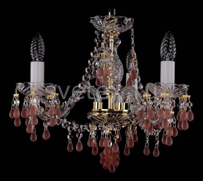 Фото Подвесная люстра Bohemia Ivele Crystal 1410 1410/3/141/G/7010