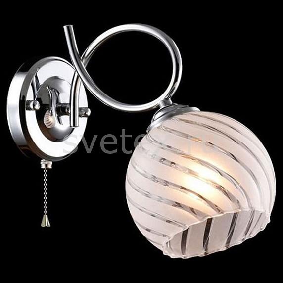 Бра ОптимаНастенные светильники<br>Артикул - EV_77247,Бренд - Оптима (Китай),Коллекция - Анланта,Гарантия, месяцы - 24,Ширина, мм - 140,Высота, мм - 270,Выступ, мм - 220,Тип лампы - компактная люминесцентная [КЛЛ] ИЛИнакаливания ИЛИсветодиодная [LED],Общее кол-во ламп - 1,Напряжение питания лампы, В - 220,Максимальная мощность лампы, Вт - 60,Лампы в комплекте - отсутствуют,Цвет плафонов и подвесок - белый полосатый,Тип поверхности плафонов - матовый, прозрачный,Материал плафонов и подвесок - стекло,Цвет арматуры - хром,Тип поверхности арматуры - глянцевый,Материал арматуры - металл,Количество плафонов - 1,Наличие выключателя, диммера или пульта ДУ - выключатель шнуровой,Возможность подлючения диммера - можно, если установить лампу накаливания,Тип цоколя лампы - E27,Класс электробезопасности - I,Степень пылевлагозащиты, IP - 20,Диапазон рабочих температур - комнатная температура,Дополнительные параметры - способ крепления светильника к стене - на монтажной пластине, светильник предназначен для  использования со скрытой проводкой<br>