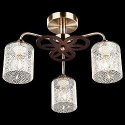 Люстра на штанге EurosvetНе более 4 ламп<br>Артикул - EV_73968,Бренд - Eurosvet (Китай),Коллекция - 30050,Гарантия, месяцы - 24,Высота, мм - 300,Диаметр, мм - 520,Тип лампы - компактная люминесцентная [КЛЛ] ИЛИнакаливания ИЛИсветодиодная [LED],Общее кол-во ламп - 3,Напряжение питания лампы, В - 220,Максимальная мощность лампы, Вт - 60,Лампы в комплекте - отсутствуют,Цвет плафонов и подвесок - белый с узором,Тип поверхности плафонов - матовый,Материал плафонов и подвесок - стекло,Цвет арматуры - бронза античная, венге,Тип поверхности арматуры - матовый,Материал арматуры - металл,Возможность подлючения диммера - можно, если установить лампу накаливания,Тип цоколя лампы - E14,Класс электробезопасности - I,Общая мощность, Вт - 180,Степень пылевлагозащиты, IP - 20,Диапазон рабочих температур - комнатная температура,Дополнительные параметры - способ крепления светильника к потолку - на монтажной пластине<br>