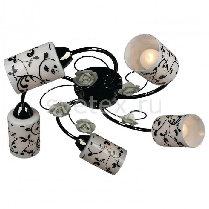 Потолочная люстра OmniluxЛюстры<br>Артикул - OM_OML-39007-05,Бренд - Omnilux (Италия),Коллекция - OML-390,Гарантия, месяцы - 24,Время изготовления, дней - 1,Высота, мм - 200,Диаметр, мм - 500,Тип лампы - компактная люминесцентная [КЛЛ] ИЛИнакаливания ИЛИсветодиодная [LED],Общее кол-во ламп - 5,Напряжение питания лампы, В - 220,Максимальная мощность лампы, Вт - 60,Лампы в комплекте - отсутствуют,Цвет плафонов и подвесок - белый, белый с черным рисунком,Тип поверхности плафонов - глянцевый,Материал плафонов и подвесок - стекло,Цвет арматуры - черный хромированный,Тип поверхности арматуры - глянцевый,Материал арматуры - металл,Количество плафонов - 5,Возможность подлючения диммера - можно, если установить лампу накаливания,Тип цоколя лампы - E14,Класс электробезопасности - I,Общая мощность, Вт - 300,Степень пылевлагозащиты, IP - 20,Диапазон рабочих температур - комнатная температура<br>