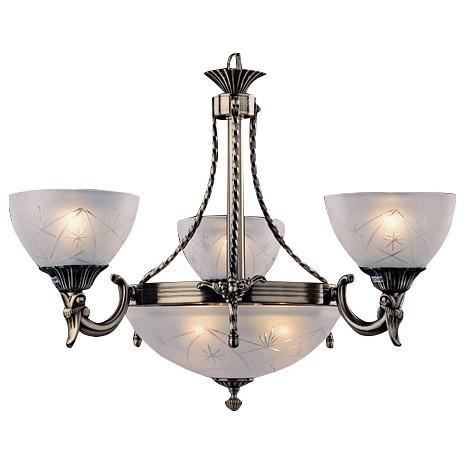 Подвесная люстра EurosvetЛюстры<br>Артикул - EV_71540,Бренд - Eurosvet (Китай),Коллекция - 60006,Гарантия, месяцы - 24,Высота, мм - 690-880,Диаметр, мм - 590,Тип лампы - компактная люминесцентная [КЛЛ] ИЛИнакаливания ИЛИсветодиодная [LED],Общее кол-во ламп - 6,Напряжение питания лампы, В - 220,Максимальная мощность лампы, Вт - 60,Лампы в комплекте - отсутствуют,Цвет плафонов и подвесок - белый с рисунком,Тип поверхности плафонов - матовый, рельефный,Материал плафонов и подвесок - стекло,Цвет арматуры - бронза античная,Тип поверхности арматуры - матовый, рельефный,Материал арматуры - металл,Количество плафонов - 4,Возможность подлючения диммера - можно, если установить лампу накаливания,Тип цоколя лампы - E27,Класс электробезопасности - I,Общая мощность, Вт - 360,Степень пылевлагозащиты, IP - 20,Диапазон рабочих температур - комнатная температура,Дополнительные параметры - способ крепления светильника к потолку - на крюке, регулируется по высоте<br>