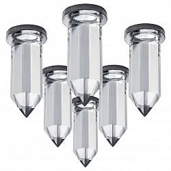 Комплект из 6 встраиваемых светильников Nubella 079064