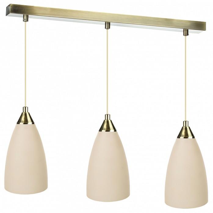 Подвесной светильник 33 идеиДля кухни<br>Артикул - ZZ_PND.102.03.01.AB-S.04.BG_3,Бренд - 33 идеи (Россия),Коллекция - AB_S.04.BG,Длина, мм - 670,Ширина, мм - 110,Высота, мм - 915,Размер упаковки, мм - 560x80x60, 3*110x110x170,Тип лампы - компактная люминесцентная [КЛЛ] ИЛИнакаливания ИЛИсветодиодная [LED],Общее кол-во ламп - 3,Напряжение питания лампы, В - 220,Максимальная мощность лампы, Вт - 60,Лампы в комплекте - отсутствуют,Цвет плафонов и подвесок - бежевый,Тип поверхности плафонов - матовый,Материал плафонов и подвесок - стекло,Цвет арматуры - латунь античная,Тип поверхности арматуры - глянцевый,Материал арматуры - металл,Количество плафонов - 3,Возможность подлючения диммера - можно, если установить лампу накаливания,Тип цоколя лампы - E14,Класс электробезопасности - I,Общая мощность, Вт - 180,Степень пылевлагозащиты, IP - 20,Диапазон рабочих температур - комнатная температура,Дополнительные параметры - основания светильника 560x55 мм, диаметр плафона 110 мм, способ крепления светильника к потолку – на монтажной пластине<br>