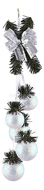 Елочная игрушка АРТИ-МЕлочные игрушки<br>Артикул - art_860-044,Бренд - АРТИ-М (Россия),Коллекция - Капелла,Высота, мм - 460,Цвет - перламутровый,Материал - стекло<br>