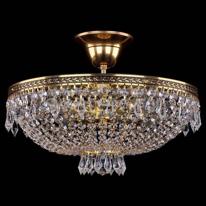 Фото Люстра на штанге Bohemia Ivele Crystal 1927 1927/35Z/GB
