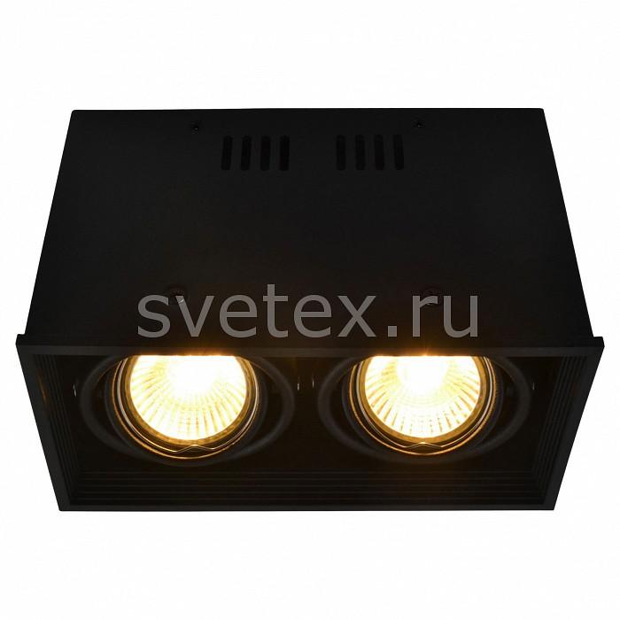 Накладной светильник Arte LampНакладные светильники<br>Артикул - AR_A5942PL-2BK,Бренд - Arte Lamp (Италия),Коллекция - Cardani,Гарантия, месяцы - 24,Длина, мм - 184,Ширина, мм - 100,Высота, мм - 120,Тип лампы - галогеновая ИЛИсветодиодная [LED],Общее кол-во ламп - 2,Напряжение питания лампы, В - 220,Максимальная мощность лампы, Вт - 50,Лампы в комплекте - отсутствуют,Цвет плафонов и подвесок - черный,Тип поверхности плафонов - матовый,Материал плафонов и подвесок - металл,Цвет арматуры - черный,Тип поверхности арматуры - матовый,Материал арматуры - металл,Количество плафонов - 2,Форма и тип колбы - полусферическая с рефлектором,Тип цоколя лампы - GU10,Класс электробезопасности - I,Общая мощность, Вт - 100,Степень пылевлагозащиты, IP - 20,Диапазон рабочих температур - комнатная температура,Дополнительные параметры - способ крепления светильника к потолку - на монтажной пластине, поворотный светильник<br>