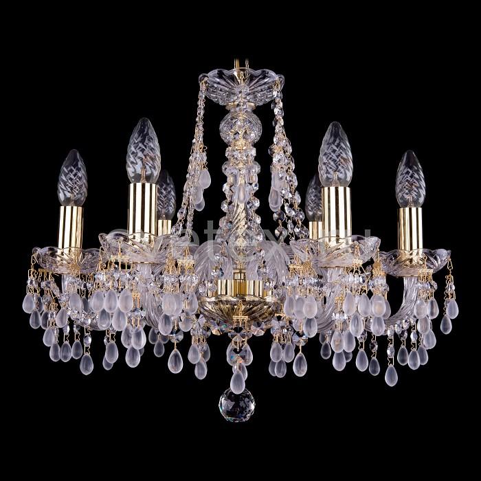 Фото Подвесная люстра Bohemia Ivele Crystal 1410 1410/6/160/G/0300