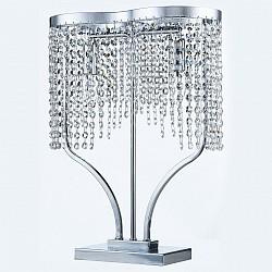 Настольная лампа MaytoniНастольные лампы<br>Артикул - MY_DIA600-22-N,Бренд - Maytoni (Германия),Коллекция - Toils,Гарантия, месяцы - 24,Высота, мм - 460,Тип лампы - компактная люминесцентная [КЛЛ] ИЛИнакаливания ИЛИсветодиодная [LED],Общее кол-во ламп - 2,Напряжение питания лампы, В - 220,Максимальная мощность лампы, Вт - 60,Лампы в комплекте - отсутствуют,Цвет плафонов и подвесок - неокрашенный,Тип поверхности плафонов - прозрачный,Материал плафонов и подвесок - хрусталь,Цвет арматуры - хром,Тип поверхности арматуры - глянцевый,Материал арматуры - металл,Тип цоколя лампы - E14,Класс электробезопасности - II,Общая мощность, Вт - 120,Степень пылевлагозащиты, IP - 20,Диапазон рабочих температур - комнатная температура<br>