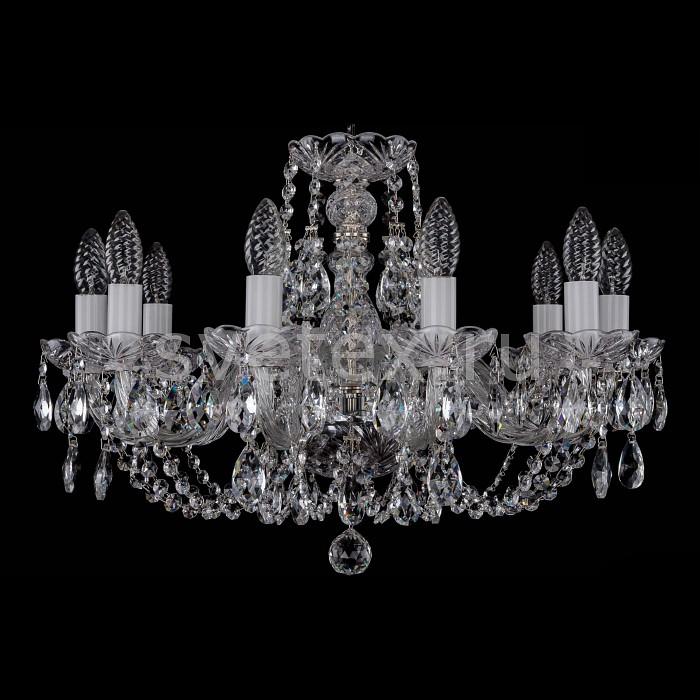 Фото Подвесная люстра Bohemia Ivele Crystal 1406 1406/10/195/Ni