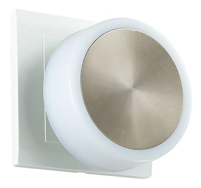 Ночник NovotechКруглые<br>Артикул - NV_357322,Бренд - Novotech (Венгрия),Коллекция - Night Light,Гарантия, месяцы - 24,Выступ, мм - 65,Диаметр, мм - 78,Размер упаковки, мм - 140х190,Тип лампы - светодиодная [LED],Общее кол-во ламп - 1,Напряжение питания лампы, В - 220,Максимальная мощность лампы, Вт - 1.44,Цвет лампы - белый теплый,Лампы в комплекте - светодиодная [LED],Цвет плафонов и подвесок - белый, сталь,Тип поверхности плафонов - глянцевый, матовый, металлик,Материал плафонов и подвесок - полимер,Цвет арматуры - белый,Тип поверхности арматуры - глянцевый, матовый,Материал арматуры - полимер,Количество плафонов - 1,Компоненты, входящие в комплект - розетка без заземления,Цветовая температура, K - 3000 K,Световой поток, лм - 60,Экономичнее лампы накаливания - в 8, 3 раза,Светоотдача, лм/Вт - 33,Класс электробезопасности - II,Степень пылевлагозащиты, IP - 20,Диапазон рабочих температур - комнатная температура<br>