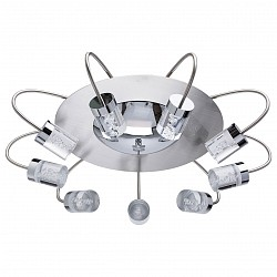 Накладной светильник MW-LightСветодиодные<br>Артикул - MW_678011709,Бренд - MW-Light (Германия),Коллекция - Граффити 10,Гарантия, месяцы - 24,Высота, мм - 200,Диаметр, мм - 640,Тип лампы - светодиодная [LED],Общее кол-во ламп - 9,Максимальная мощность лампы, Вт - 5,Лампы в комплекте - светодиодные [LED],Цвет плафонов и подвесок - неокрашенный,Тип поверхности плафонов - прозрачный,Материал плафонов и подвесок - стекло,Цвет арматуры - никель,Тип поверхности арматуры - матовый,Материал арматуры - металл,Возможность подлючения диммера - нельзя,Класс электробезопасности - I,Общая мощность, Вт - 45,Степень пылевлагозащиты, IP - 20,Диапазон рабочих температур - комнатная температура,Дополнительные параметры - способ крепления к потолку - на монтажной пластине<br>
