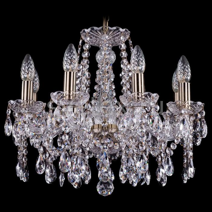 Фото Подвесная люстра Bohemia Ivele Crystal 1413 1413/8/165/Pa