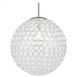 Подвесной светильник GloboБарные<br>Артикул - GB_16005,Бренд - Globo (Австрия),Коллекция - Konda,Гарантия, месяцы - 24,Время изготовления, дней - 1,Высота, мм - 1650,Диаметр, мм - 400,Размер упаковки, мм - 430x430x430,Тип лампы - компактная люминесцентная [КЛЛ] ИЛИнакаливания ИЛИсветодиодная [LED],Общее кол-во ламп - 1,Напряжение питания лампы, В - 220,Максимальная мощность лампы, Вт - 60,Лампы в комплекте - отсутствуют,Цвет плафонов и подвесок - неокрашенный,Тип поверхности плафонов - прозрачный,Материал плафонов и подвесок - полимер,Цвет арматуры - хром,Тип поверхности арматуры - глянцевый,Материал арматуры - металл,Возможность подлючения диммера - можно, если установить лампу накаливания,Тип цоколя лампы - E27,Класс электробезопасности - I,Степень пылевлагозащиты, IP - 20,Диапазон рабочих температур - комнатная температура<br>
