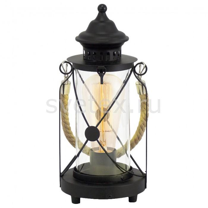 Фото Настольная лампа Eglo E27 220В 60Вт Bradford 49283