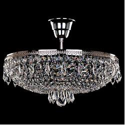 Люстра на штанге Bohemia Ivele CrystalНе более 4 ламп<br>Артикул - BI_1927_35Z_Ni,Бренд - Bohemia Ivele Crystal (Чехия),Коллекция - 1927,Гарантия, месяцы - 12,Высота, мм - 150,Диаметр, мм - 350,Размер упаковки, мм - 450x450x200,Тип лампы - компактная люминесцентная [КЛЛ] ИЛИнакаливания ИЛИсветодиодная [LED],Общее кол-во ламп - 4,Напряжение питания лампы, В - 220,Максимальная мощность лампы, Вт - 40,Лампы в комплекте - отсутствуют,Цвет плафонов и подвесок - неокрашенный,Тип поверхности плафонов - прозрачный,Материал плафонов и подвесок - хрусталь,Цвет арматуры - никель,Тип поверхности арматуры - глянцевый, рельефный,Материал арматуры - металл,Возможность подлючения диммера - можно, если установить лампу накаливания,Тип цоколя лампы - E14,Класс электробезопасности - I,Общая мощность, Вт - 160,Степень пылевлагозащиты, IP - 20,Диапазон рабочих температур - комнатная температура,Дополнительные параметры - способ крепления светильника к потолку – на крюке<br>
