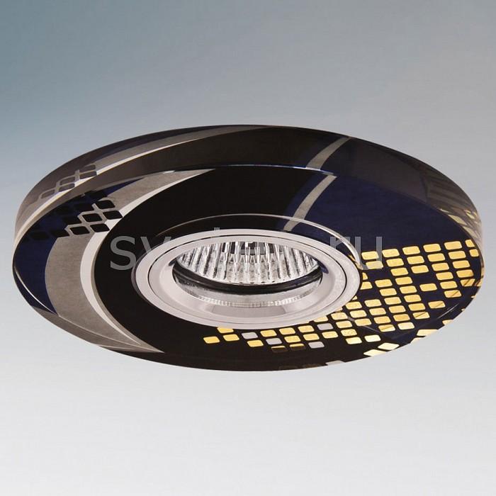 Встраиваемый светильник LightstarКруглые<br>Артикул - LS_040114,Бренд - Lightstar (Италия),Коллекция - Immage Punto,Гарантия, месяцы - 24,Время изготовления, дней - 1,Высота, мм - 70,Выступ, мм - 10,Глубина, мм - 60,Диаметр, мм - 125,Размер врезного отверстия, мм - 60,Тип лампы - галогеновая ИЛИсветодиодная [LED],Общее кол-во ламп - 1,Напряжение питания лампы, В - 12,Максимальная мощность лампы, Вт - 50,Лампы в комплекте - отсутствуют,Цвет плафонов и подвесок - неокрашенный с золотым орнаментом,Тип поверхности плафонов - прозрачный,Материал плафонов и подвесок - стекло,Цвет арматуры - хром,Тип поверхности арматуры - матовый,Материал арматуры - металл,Количество плафонов - 1,Возможность подлючения диммера - можно, если установить галогеновую лампу,Форма и тип колбы - полусферическая с рефлектором ИЛИполусферическая с радиатором,Тип цоколя лампы - GU5.3,Экономичнее лампы накаливания - на 50%,Напряжение питания, В - 220,Степень пылевлагозащиты, IP - 20,Диапазон рабочих температур - комнатная температура,Дополнительные параметры - не допускается установка ламп с алюминиевым отражателем, возможна установка лампы GU5.3 (MR-16) на 12 В с подключением через трансформатор 12 В<br>