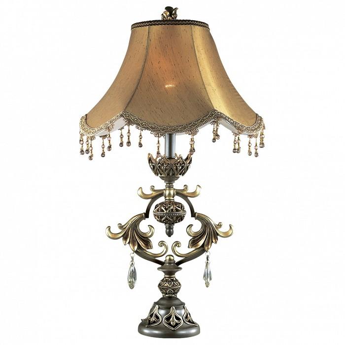 Настольная лампа Odeon LightНастольные лампы<br>Артикул - OD_2802_1T,Бренд - Odeon Light (Италия),Коллекция - Safira,Гарантия, месяцы - 24,Время изготовления, дней - 1,Высота, мм - 750,Диаметр, мм - 400,Тип лампы - компактная люминесцентная [КЛЛ] ИЛИнакаливания ИЛИсветодиодная [LED],Общее кол-во ламп - 1,Напряжение питания лампы, В - 220,Максимальная мощность лампы, Вт - 60,Лампы в комплекте - отсутствуют,Цвет плафонов и подвесок - коричневый, неокрашенный,Тип поверхности плафонов - матовый, прозрачный,Материал плафонов и подвесок - текстиль, хрусталь,Цвет арматуры - золото, коричневый,Тип поверхности арматуры - глянцевый,Материал арматуры - металл, полиэфирная смола,Количество плафонов - 1,Наличие выключателя, диммера или пульта ДУ - выключатель на проводе,Компоненты, входящие в комплект - провод электропитания с вилкой без заземления,Тип цоколя лампы - E27,Класс электробезопасности - II,Степень пылевлагозащиты, IP - 20,Диапазон рабочих температур - комнатная температура,Дополнительные параметры - провод электропитания с вилкой без заземления<br>
