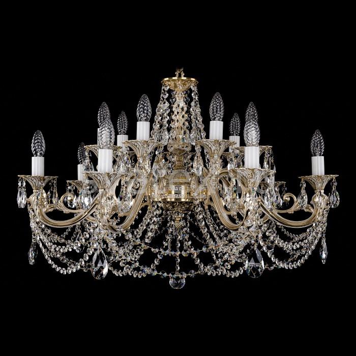 Фото Подвесная люстра Bohemia Ivele Crystal 1703 1703/14/C/GW