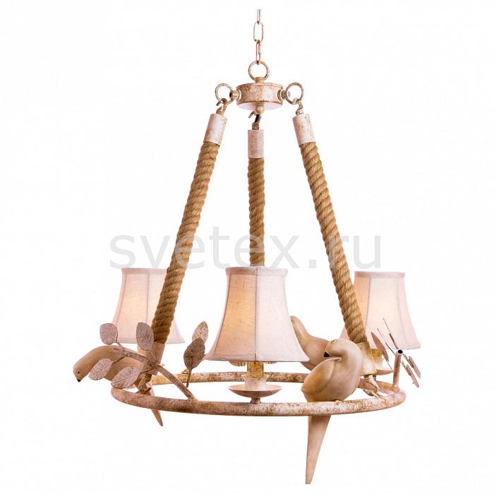 Подвесная люстра Loft itСветильники<br>Артикул - LF_LOFT8138-3,Бренд - Loft it (Испания),Коллекция - 8138,Гарантия, месяцы - 24,Высота, мм - 800-1800,Диаметр, мм - 580,Тип лампы - компактная люминесцентная [КЛЛ] ИЛИнакаливания ИЛИсветодиодная [LED],Общее кол-во ламп - 3,Напряжение питания лампы, В - 220,Максимальная мощность лампы, Вт - 60,Лампы в комплекте - отсутствуют,Цвет плафонов и подвесок - белый,Тип поверхности плафонов - матовый,Материал плафонов и подвесок - текстиль,Цвет арматуры - белый, коричневый,Тип поверхности арматуры - матовый,Материал арматуры - канат, металл,Количество плафонов - 3,Возможность подлючения диммера - можно, если установить лампу накаливания,Тип цоколя лампы - E14,Класс электробезопасности - I,Общая мощность, Вт - 180,Степень пылевлагозащиты, IP - 20,Диапазон рабочих температур - комнатная температура,Дополнительные параметры - способ крепления светильника к потолку - на круке, светильник регулируется по высоте<br>