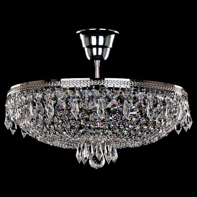 Фото Люстра на штанге Bohemia Ivele Crystal 1927 1927/35Z/Ni