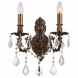 Бра GloboБолее 1 лампы<br>Артикул - GB_64115-2W,Бренд - Globo (Австрия),Коллекция - Crown,Гарантия, месяцы - 24,Высота, мм - 420,Размер упаковки, мм - 350x250x290,Тип лампы - компактная люминесцентная [КЛЛ] ИЛИнакаливания ИЛИсветодиодная [LED],Общее кол-во ламп - 2,Напряжение питания лампы, В - 220,Максимальная мощность лампы, Вт - 40,Лампы в комплекте - отсутствуют,Цвет плафонов и подвесок - неокрашенный,Тип поверхности плафонов - прозрачный,Материал плафонов и подвесок - хрусталь K9,Цвет арматуры - коричневый,Тип поверхности арматуры - матовый,Материал арматуры - металл,Возможность подлючения диммера - можно, если установить лампу накаливания,Форма и тип колбы - свеча ИЛИ свеча на ветру,Тип цоколя лампы - E14,Класс электробезопасности - I,Общая мощность, Вт - 80,Степень пылевлагозащиты, IP - 20,Диапазон рабочих температур - комнатная температура,Дополнительные параметры - способ крепления светильника к стене – на монтажной пластине, светильник предназначен для использования со скрытой проводкой<br>