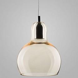 Подвесной светильник TK LightingДля кухни<br>Артикул - EV_72803,Бренд - TK Lighting (Польша),Коллекция - Mango,Гарантия, месяцы - 24,Высота, мм - 1100,Диаметр, мм - 180,Тип лампы - компактная люминесцентная [КЛЛ] ИЛИнакаливания ИЛИсветодиодная [LED],Общее кол-во ламп - 1,Напряжение питания лампы, В - 220,Максимальная мощность лампы, Вт - 60,Лампы в комплекте - отсутствуют,Цвет плафонов и подвесок - бежевый,Тип поверхности плафонов - прозрачный,Материал плафонов и подвесок - стекло,Цвет арматуры - хром,Тип поверхности арматуры - глянцевый,Материал арматуры - металл,Возможность подлючения диммера - можно, если установить лампу накаливания,Тип цоколя лампы - E27,Класс электробезопасности - I,Степень пылевлагозащиты, IP - 20,Диапазон рабочих температур - комнатная температура,Дополнительные параметры - способ крепления к потолку - на монтажной пластине<br>