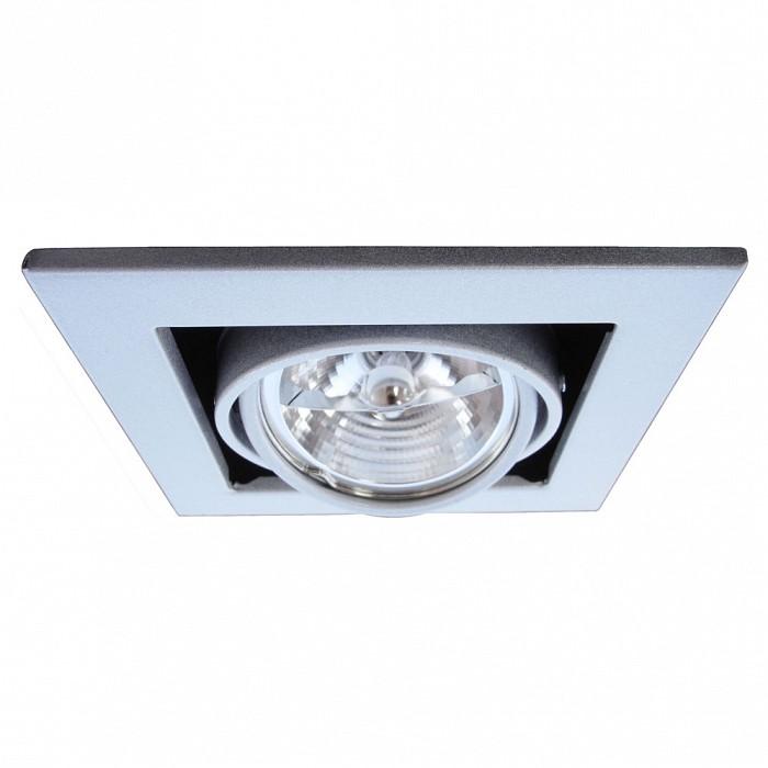 Фото Встраиваемый светильник Arte Lamp Technika 2 A5930PL-1SI