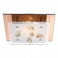 Накладной светильник GloboКвадратные<br>Артикул - GB_40412,Бренд - Globo (Австрия),Коллекция - Ayana,Гарантия, месяцы - 24,Тип лампы - компактная люминесцентная [КЛЛ] ИЛИнакаливания ИЛИсветодиодная [LED],Общее кол-во ламп - 1,Напряжение питания лампы, В - 230,Максимальная мощность лампы, Вт - 40,Лампы в комплекте - отсутствуют,Цвет плафонов и подвесок - белый с рисунком, шампань,Тип поверхности плафонов - матовый, прозрачный,Материал плафонов и подвесок - стекло, хрусталь K5,Цвет арматуры - хром,Тип поверхности арматуры - глянцевый,Материал арматуры - металл,Возможность подлючения диммера - нельзя,Тип цоколя лампы - E27,Класс электробезопасности - I,Степень пылевлагозащиты, IP - 20,Диапазон рабочих температур - комнатная температура<br>