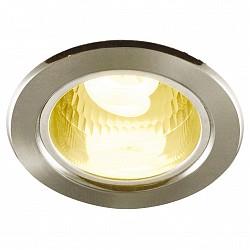 Встраиваемый светильник Arte LampКруглые<br>Артикул - AR_A8043PL-1SS,Бренд - Arte Lamp (Италия),Коллекция - General,Гарантия, месяцы - 24,Диаметр, мм - 112,Тип лампы - компактная люминесцентная [КЛЛ],Общее кол-во ламп - 1,Напряжение питания лампы, В - 220,Максимальная мощность лампы, Вт - 7,Лампы в комплекте - компактная люминесцентная [КЛЛ] E27,Цвет плафонов и подвесок - неокрашенный,Тип поверхности плафонов - прозрачный,Материал плафонов и подвесок - стекло,Цвет арматуры - серебро,Тип поверхности арматуры - матовый,Материал арматуры - сталь,Тип цоколя лампы - E27,Класс электробезопасности - I,Степень пылевлагозащиты, IP - 23,Диапазон рабочих температур - комнатная температура<br>