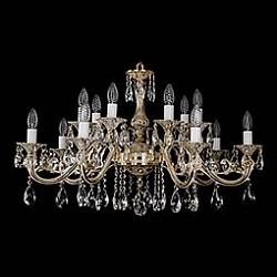Подвесная люстра Bohemia Ivele CrystalБолее 6 ламп<br>Артикул - BI_1703_14_A_GW,Бренд - Bohemia Ivele Crystal (Чехия),Коллекция - 1703,Гарантия, месяцы - 12,Высота, мм - 500,Диаметр, мм - 850,Размер упаковки, мм - 710x710x240,Тип лампы - компактная люминесцентная [КЛЛ] ИЛИнакаливания ИЛИсветодиодная [LED],Общее кол-во ламп - 14,Напряжение питания лампы, В - 220,Максимальная мощность лампы, Вт - 40,Лампы в комплекте - отсутствуют,Цвет плафонов и подвесок - неокрашенный,Тип поверхности плафонов - прозрачный,Материал плафонов и подвесок - хрусталь,Цвет арматуры - золото беленое,Тип поверхности арматуры - глянцевый, рельефный,Материал арматуры - металл,Возможность подлючения диммера - можно, если установить лампу накаливания,Форма и тип колбы - свеча ИЛИ свеча на ветру,Тип цоколя лампы - E14,Класс электробезопасности - I,Общая мощность, Вт - 560,Степень пылевлагозащиты, IP - 20,Диапазон рабочих температур - комнатная температура,Дополнительные параметры - способ крепления светильника к потолку – на крюке<br>