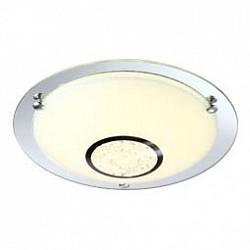 Накладной светильник GloboКруглые<br>Артикул - GB_48240,Бренд - Globo (Австрия),Коллекция - Amada,Гарантия, месяцы - 24,Высота, мм - 105,Диаметр, мм - 315,Тип лампы - светодиодная [LED],Общее кол-во ламп - 1,Напряжение питания лампы, В - 19.8,Максимальная мощность лампы, Вт - 12,Лампы в комплекте - светодиодная [LED],Цвет плафонов и подвесок - белый, неокрашенный,Тип поверхности плафонов - матовый, прозрачный,Материал плафонов и подвесок - стекло, хрусталь K5,Цвет арматуры - неокрашенный, хром,Тип поверхности арматуры - глянцевый,Материал арматуры - металл,Возможность подлючения диммера - нельзя,Класс электробезопасности - I,Степень пылевлагозащиты, IP - 20,Диапазон рабочих температур - комнатная температура<br>