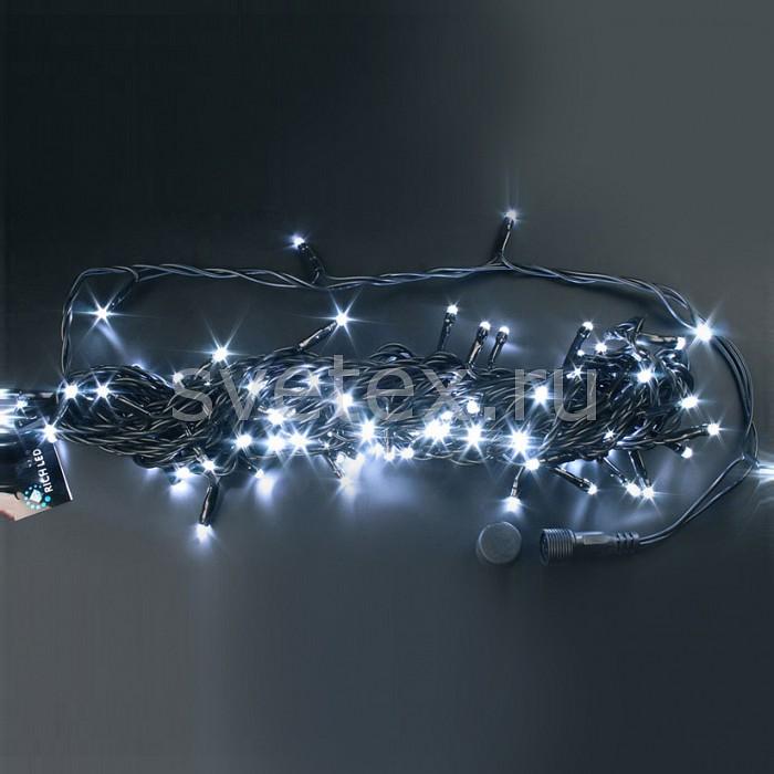 Гирлянда на деревья RichLEDГирлянды на деревья<br>Артикул - RL_RL-S10C-24V-W,Бренд - RichLED (Россия),Коллекция - RL-S10C,Время изготовления, дней - 1,Длина, мм - 10000,Длина - 10 м,Тип лампы - светодиодная [LED],Количество ламп - 100,Общее кол-во ламп - 100,Напряжение питания лампы, В - 24,Цвет лампы - белый,Лампы в комплекте - светодиодные [LED],Число нитей - 1,Число гирлянд, соединенных вместе - 8,Необходимые компоненты - блок питания RL_RL-220AC_DC2_60W; RL_RL-220AC_DC2_60W-W,Ресурс лампы - 60 тыс.часов,Цвет провода - черный,Класс электробезопасности - I,Общая мощность, Вт - 4,Степень пылевлагозащиты, IP - 54,Диапазон рабочих температур - от -40^C до +40^C,Дополнительные параметры - свечение с постоянной яркостью<br>