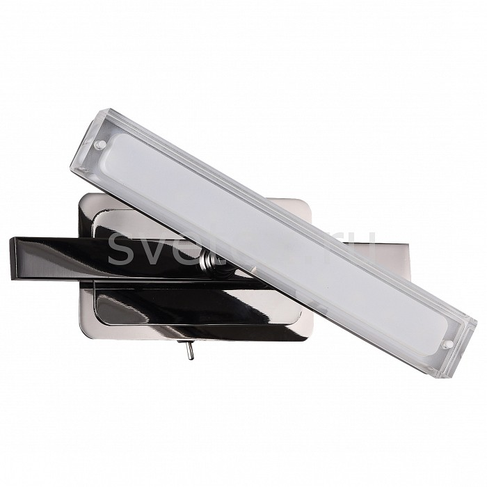 Фото Бра IDLamp 406 406/1A-Blackchrome