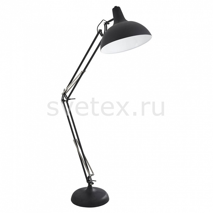 Фото Торшер Arte Lamp Goliath A2487PN-1BK